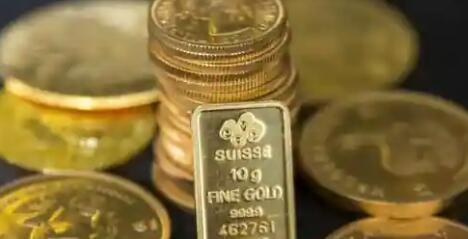 今天黄金价格在上涨的第二天下跌