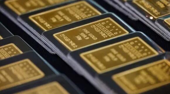由于美国收益率反弹 黄金从数周高点回落