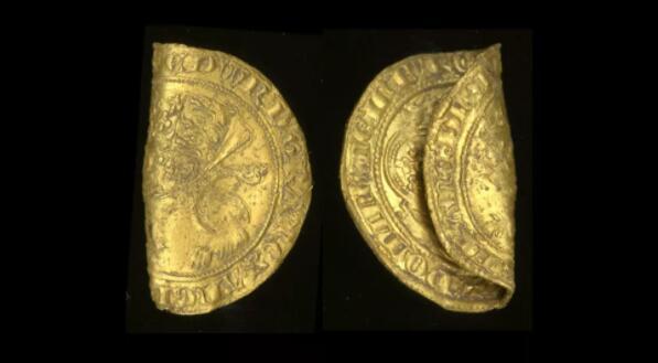 金属探测器发现黑死病时期稀有金币