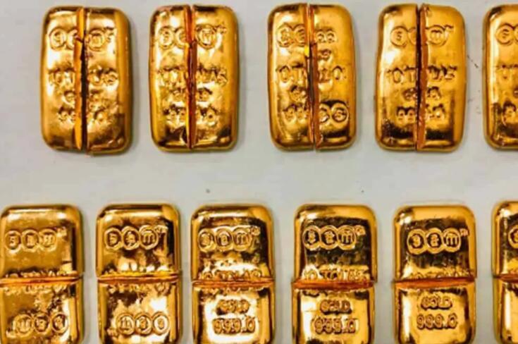 海得拉巴机场官员查获价值200万卢比的黄金