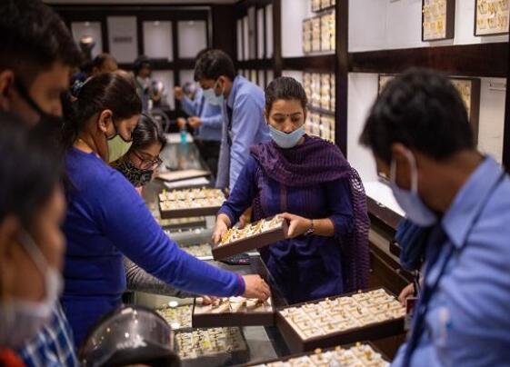 今天的黄金价格为每10克47460卢比 白银的售价为每公斤65300卢比