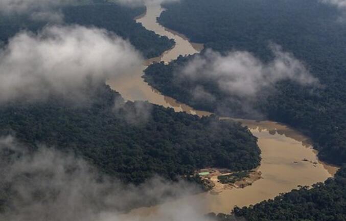 通过非法许可证在亚马逊矿中开采价值2亿美元的黄金